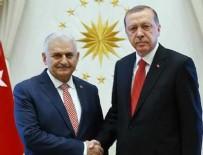 Cumhurbaşkanı Erdoğan Yıldırım'ı kabul etti