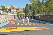 FUTBOL SAHASI - Diyarbakır'da Çocuklar İçin Oyun Sokağı Oluşturuldu