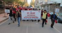 Elazığ'da '57. Alaya Vefa Yürüyüşü'