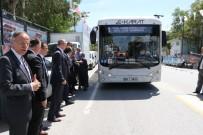 ELEKTRİKLİ OTOBÜS - Elektrikli Otobüs Manisa Sokaklarında Test Sürüşüne Çıktı