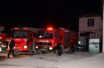 Gaziantep'te İplik Fabrikasında Çıkan Yangın Korkuttu