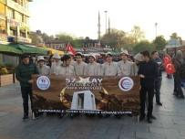 EYÜP SULTAN - Gençler 57'Nci Alay Şehitleri İçin Yürüdü