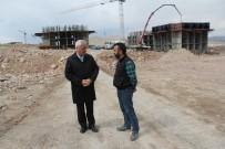 İncesu Belediye Başkanı Zekeriya Karayol TOKİ Şantiyesini Ziyaret Etti