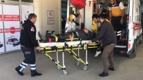 YıLDıZTEPE - İnşaattan Düşen İşçi Yaralandı