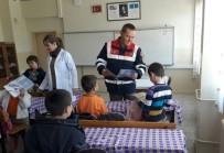ÜÇPıNAR - Jandarmadan Öğrencilere Trafik Semineri