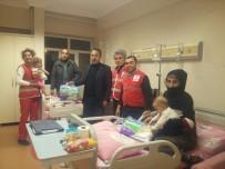 TEKERLEKLİ SANDALYE - Kızılay Heyetinden Hastalara Ziyaret