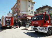 Lokantada Çıkan Yangın İtfaiyeyi Alarma Geçirdi