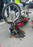 KOCAHASANLı - Motosiklet Minibüse Çarptı Açıklaması 1 Ağır Yaralı