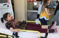 Motosikletin Çarptığı Suriyeli Yaralandı