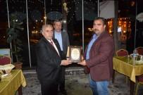 VİRANŞEHİR - Müdür Ateş'ten Vekile Akyürek'e Teşekkür Plaketi