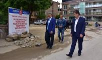 Nazilli'de Cadde Ve Sokaklar Yenileniyor