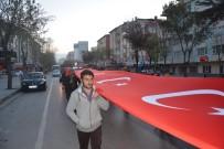 Niğde'de '57. Alay Çanakkale Vefa Yürüyüşü' Yapıldı