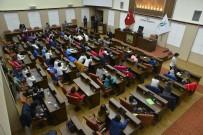 SU SPORLARI - Öğrencilerden Başkan Ataç'a Ziyaret