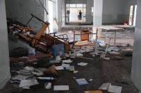 SABİHA GÖKÇEN - Talan Edilen Okula Kimse Sahip Çıkmıyor