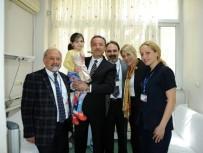 Prof. Dr. Gürgün'den Tedavi Olan Çocuklara Bayram Morali