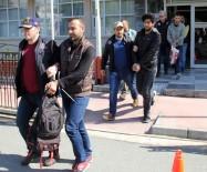 Samsun'da DEAŞ'tan Gözaltına Alınan 6 Iraklı Adliyeye Sevk Edildi