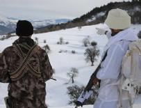 KALAŞNIKOF - Şırnak'ta 2 bin 900 rakımda terör operasyonu