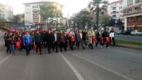 MUSTAFA TOPÇU - Tekirdağ'da 57. Alay Vefa Yürüyüşü