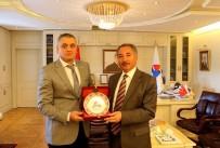 MARMARA ÜNIVERSITESI - Türkiye Sualtı Sporları Federasyon Başkanı AİÇÜ'de