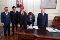 İL MİLLİ EĞİTİM MÜDÜRLÜĞÜ - 21 Derslikli Okulun Protokolü İmzalandı