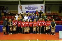 SOSYAL HİZMETLER - 25 Takım 100 Personel İle Masa Tenisi Turnuvası Heyecanı