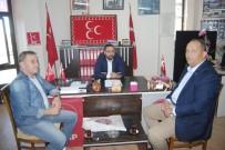 HAKAN YILDIZ - AK Parti Yönetiminden MHP İlçe Başkanı Hakan Yıldız'a Ziyaret