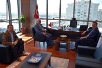 MECLIS BAŞKANı - Başkan Albayrak'tan, Çorlu TSO'ya Ziyaret