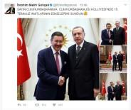 Başkan Gökçek'ten Cumhurbaşkanı Erdoğan'a Ziyaret