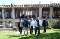 Başkan Yağcı, Projenin Yapım Çalışmasını Yerinde İnceldi