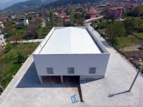 BAŞKARCı - Başkarcı'daki Düğün Salonu Ve Pazaryeri İnşaatının Yapımı Tamamlandı