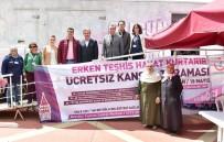 AHMET MISBAH DEMIRCAN - Beyoğlu'nda Ücretsiz Kanser Taraması Başladı