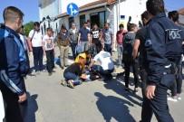 DİREKSİYON - Biga'da Kaza Açıklaması 1 Yaralı