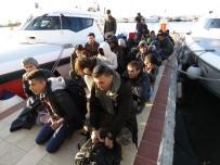 Çanakkale'de 34 mülteci yakalandı