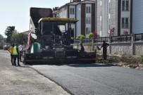 ÇEVRE YOLLARI - Cemikebir Mahallesindeki Çevre Yolları Asfaltlanıyor