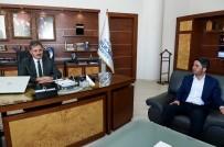 CHP İl Başkanı Kiraz'dan Çakır'a Teşekkür Ziyareti