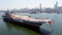 GENERAL - Çin Yerli Uçak Gemisini Suya İndirdi
