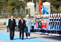 İMZA TÖRENİ - Cumhurbaşkanı Erdoğan, Somali Cumhurbaşkanı Farmajo'yu Resmi Törenle Karşıladı