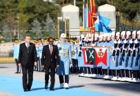 SOMALİ CUMHURBAŞKANI - Erdoğan Somalili Mevkidaşını Resmi Törenle Karşıladı