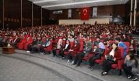 ERÜ Öğretim Üyesi Prof. Dr. Halıcı Lise Öğrencilerine Antarktika İzlenimlerini Anlattı