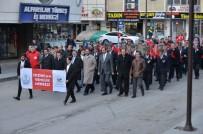 Erzincan 57'Nci Alay İçin Yürüdü