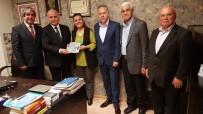 DEMOKRAT PARTI - Fatma Kaplan Hürriyet, Sendika Ve Dernekleri Ziyaret Etti