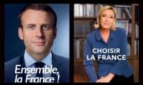 Fransız Cumhurbaşkanı Adaylarının İkinci Tur Afişleri