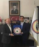 MAHMUT ARSLAN - Hak-İş Genel Başkanı Arslan'dan Göğebakan'a Ziyaret