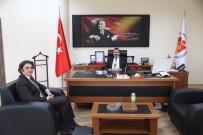 GENEL SEKRETER - İl Özel İdaresi Genel Sekreteri Benli'den NTSO Meclis Başkanı İnce'ye Ziyaret