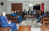 KAYHAN TÜRKMENOĞLU - İran Doğu Azerbaycan Eyaleti Vali Yardımcısı Ali Navadad, Vali Taşyapan'ı Ziyaret Etti