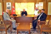 İSMAIL KARA - Kamu Hastaneleri Birliğinden Başkan Vergili'ye Ziyaret