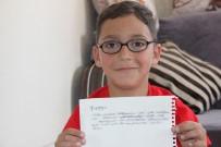 SEVINDIK - Küçük Furkan'dan Cumhurbaşkanı Erdoğan'a 15 Temmuz Mektubu