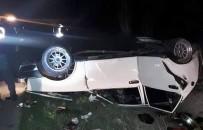 Lastiği Patlayan Otomobil Takla Attı Açıklaması 7 Yaralı