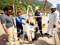 İŞ SAĞLIĞI VE GÜVENLİĞİ - MUSKİ'den Zararlı Gazlara Karşı Güvenlik Önlemi