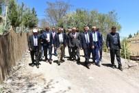 ŞİFALI SU - Müsteşar Yardımcısı Nogay İspendere İçmelerindeki Çalışmaları İnceledi